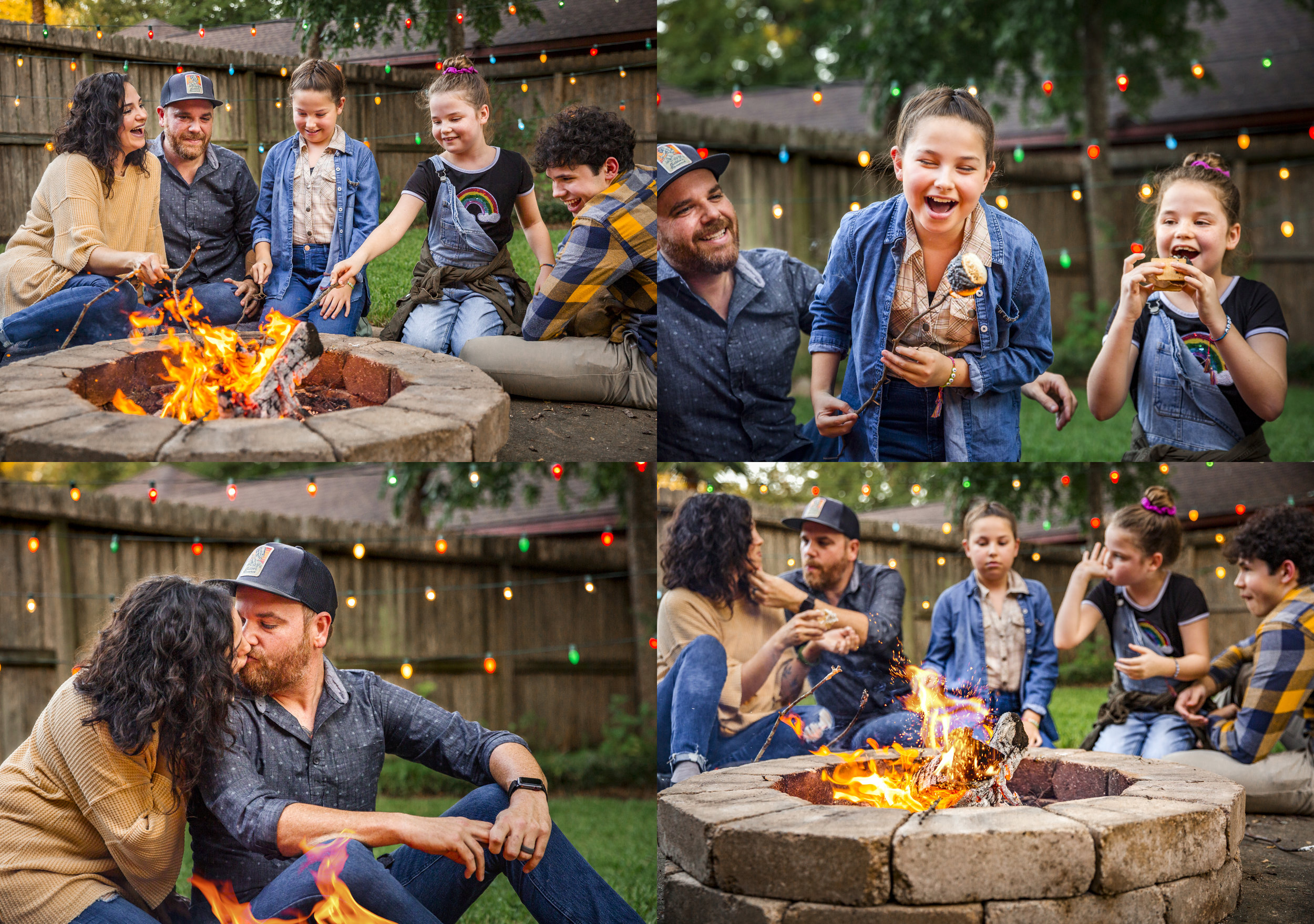 Home-style campfire minis -