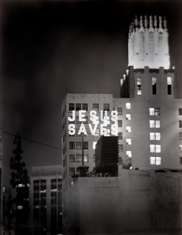 JESUS SAVES_BW.jpg