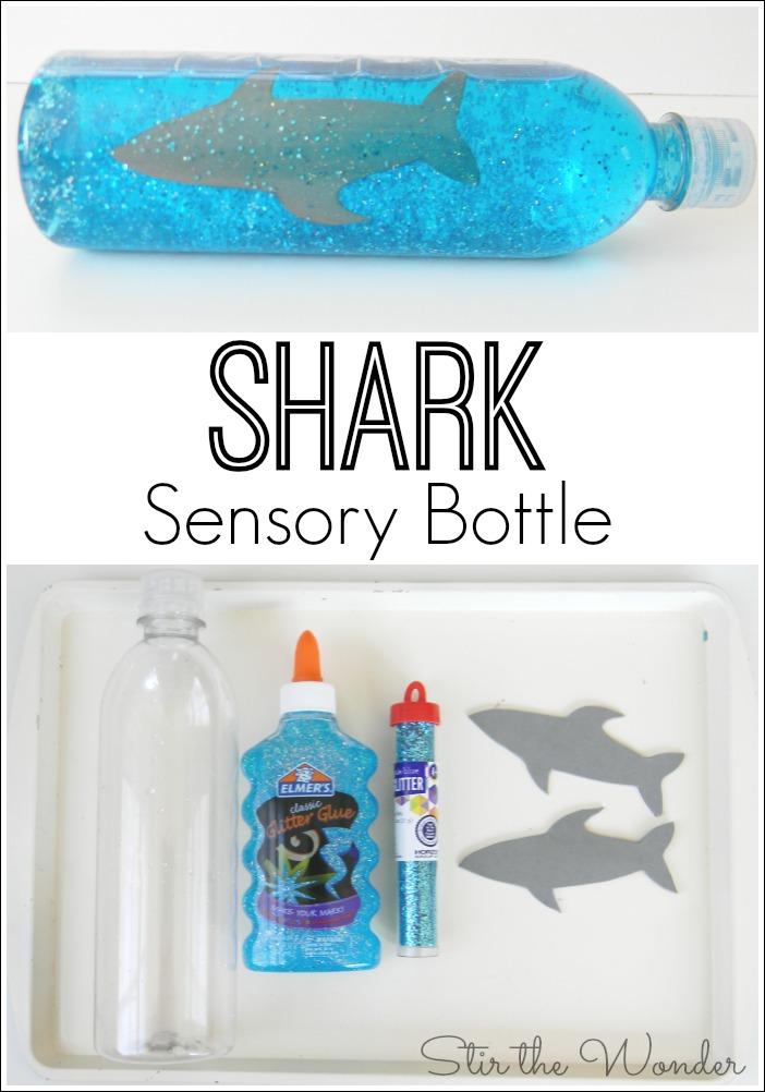 Shark Sensory Bottle