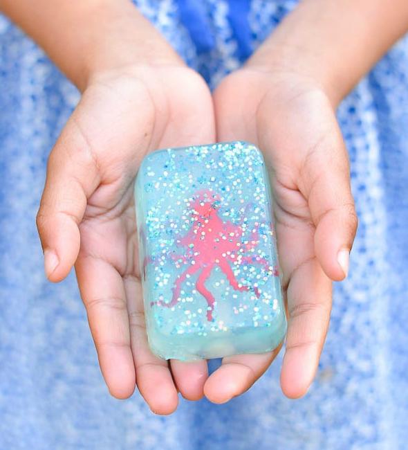 Ocean Glitter Soap