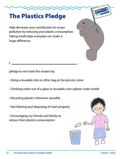 The Plastics Pledge