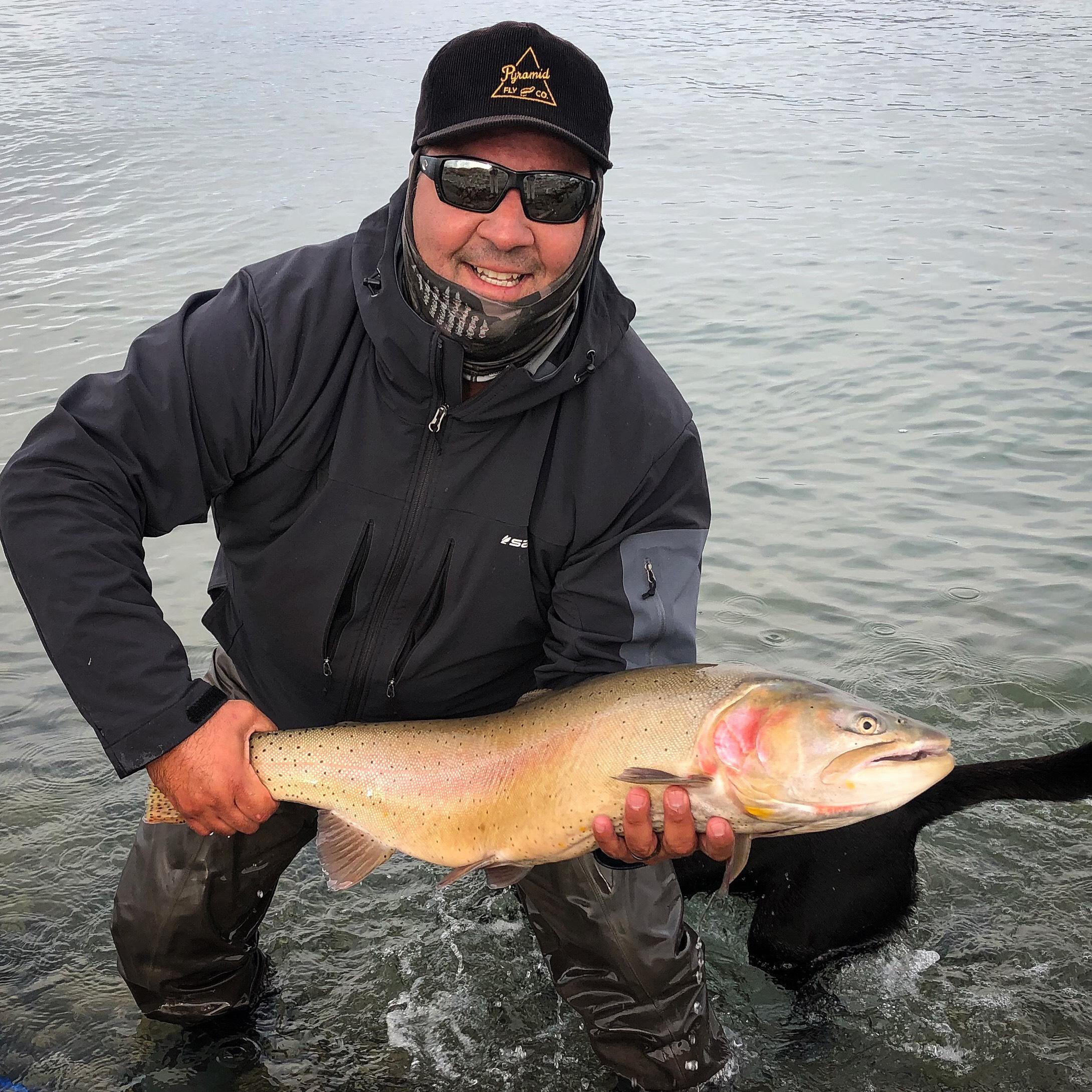 David Briseno got in on the big fish action this week.                                Photo: Morgan Kane