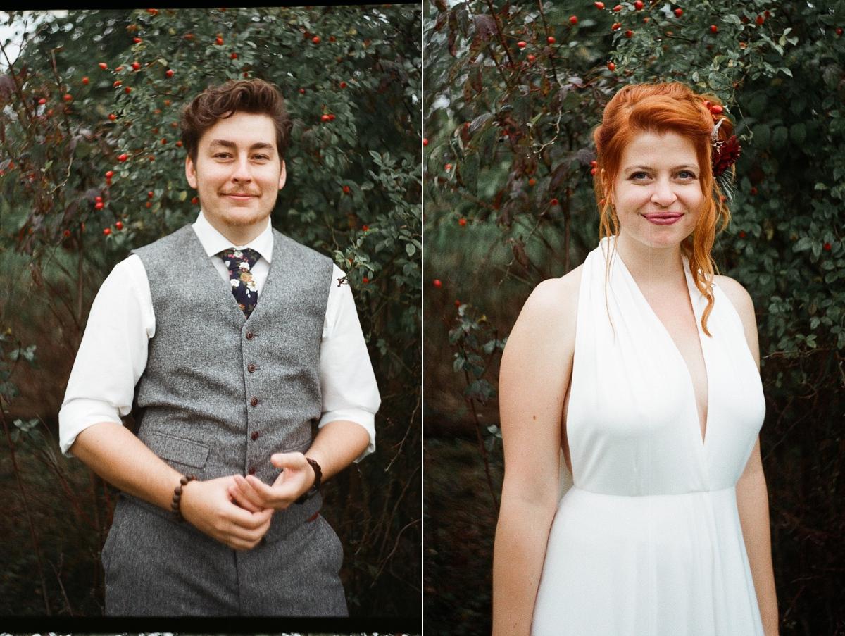 svatební foto na film