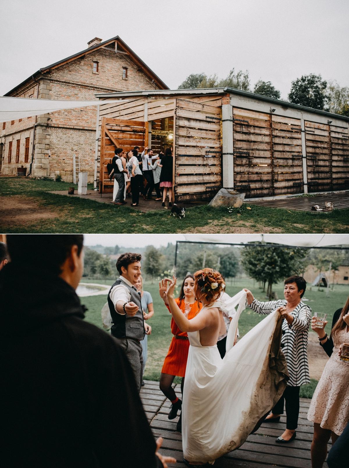 svatba dvůr honětice