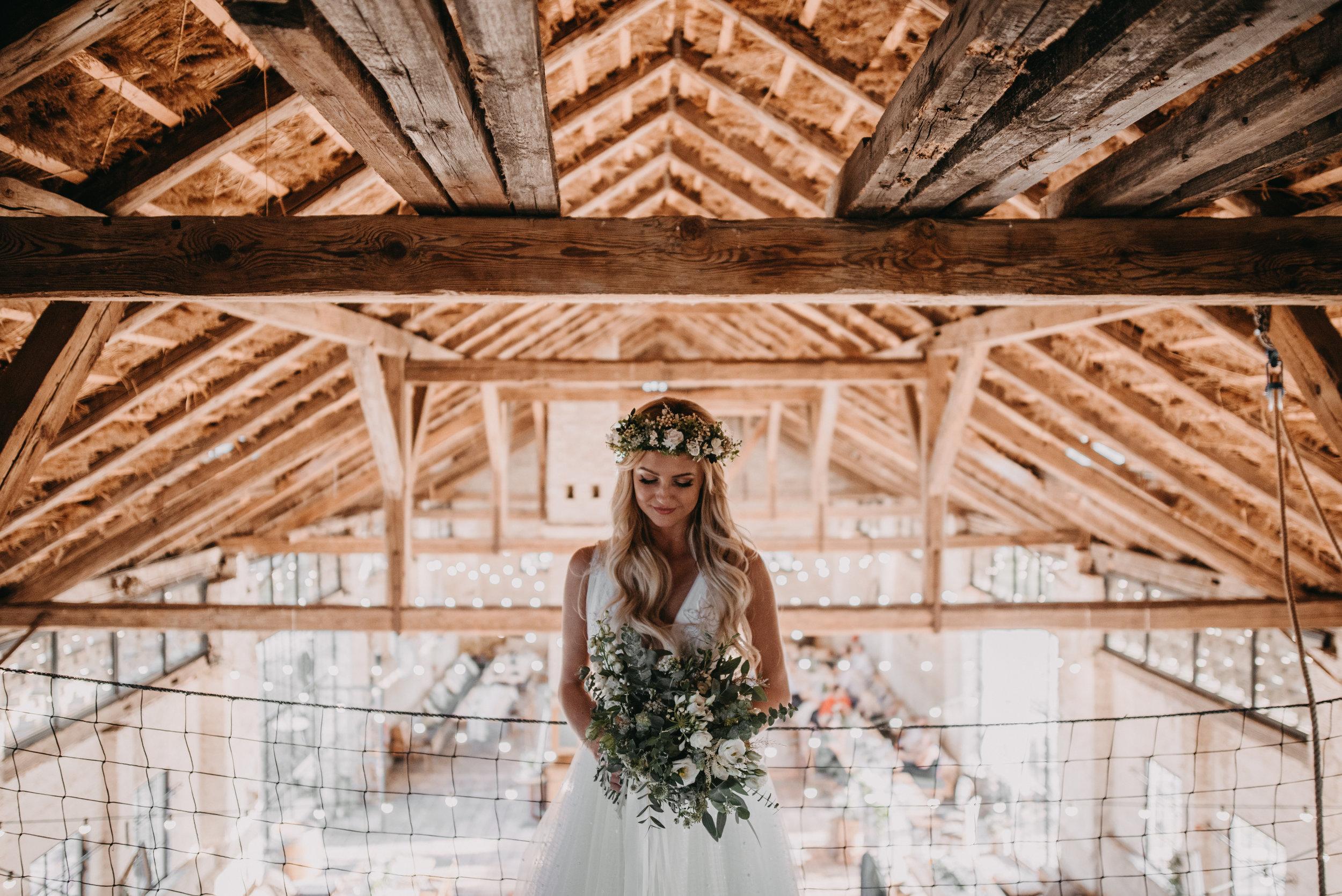 stodola na svatbu
