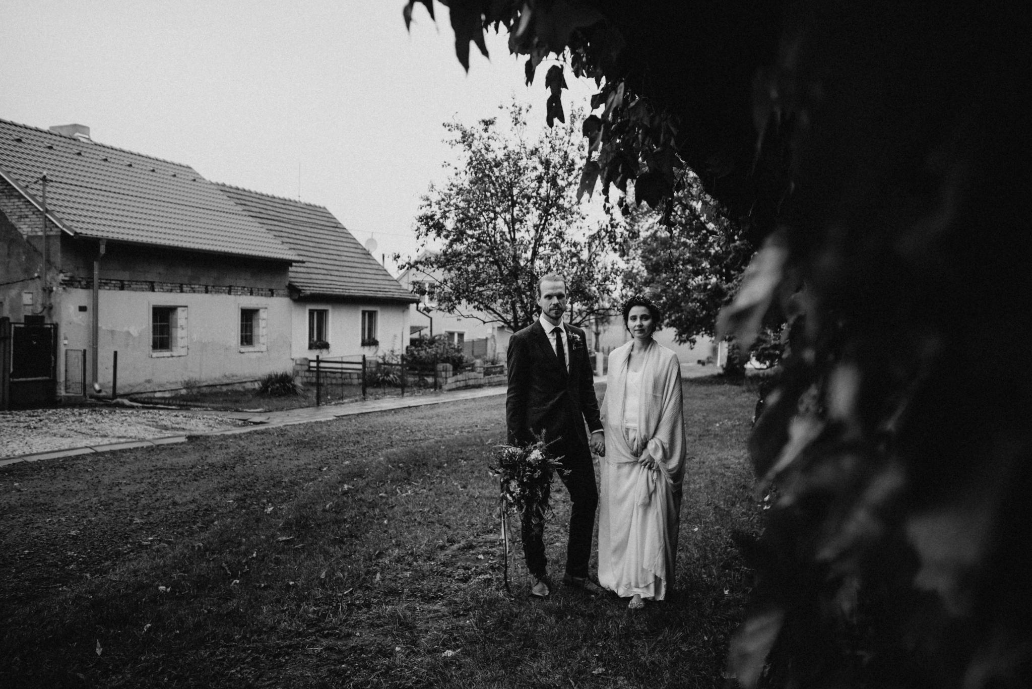 svatba na vesnici