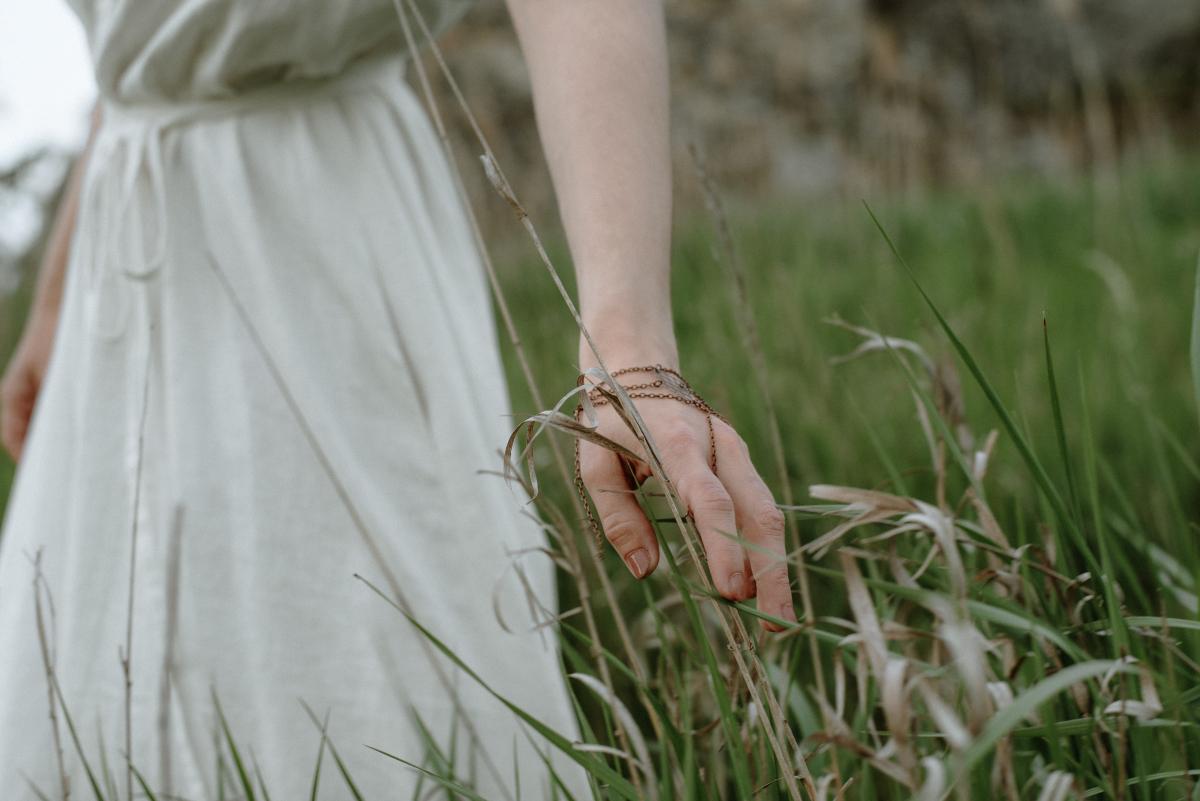šaty Marie Mukařovská, šperky by Adrianet