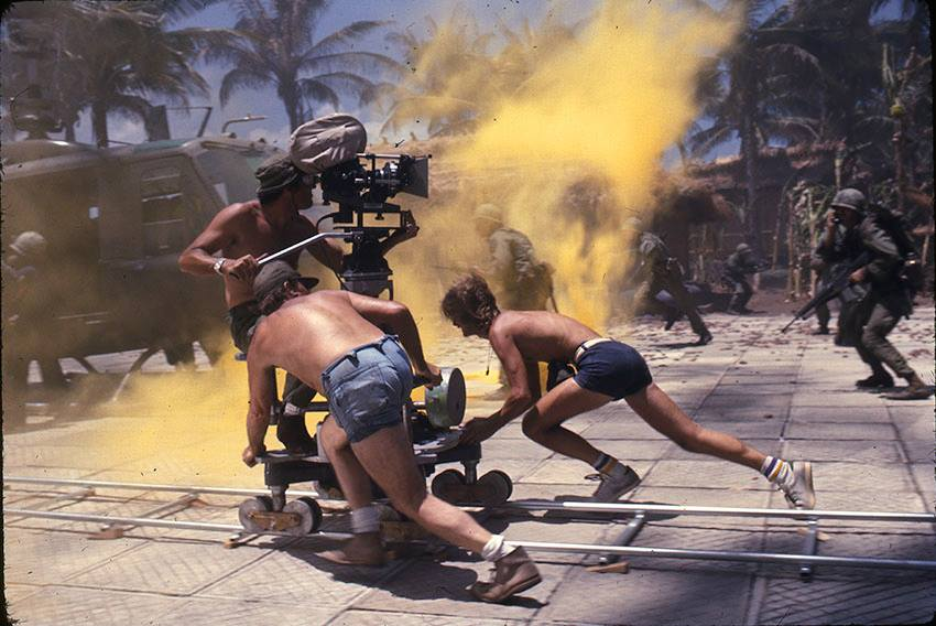 FB Behind the Clapperboard Apocalypse Now (1979). Francis Ford Coppola  Director of Photography.2nd Unit: Stephen H. Burum