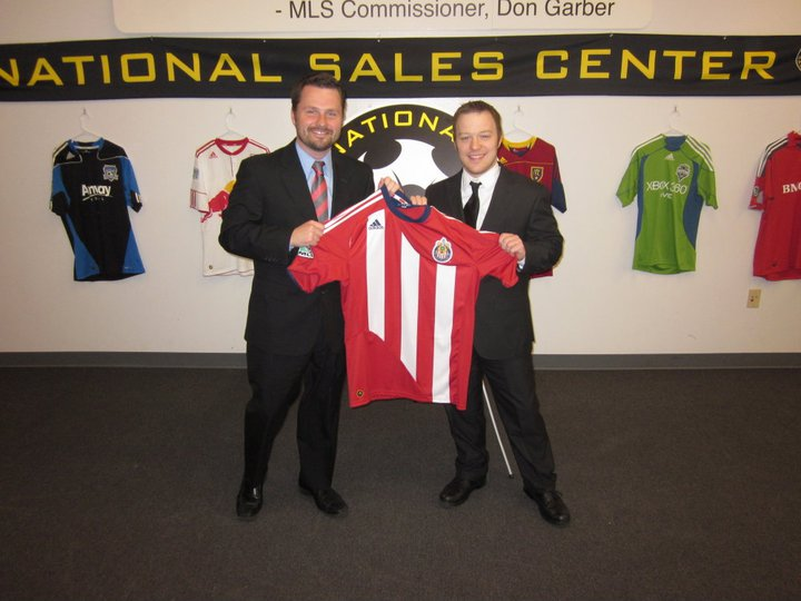 In 2011, I trained at the famed MLS National Sales Center, accepting an offer to work for Chivas USA.