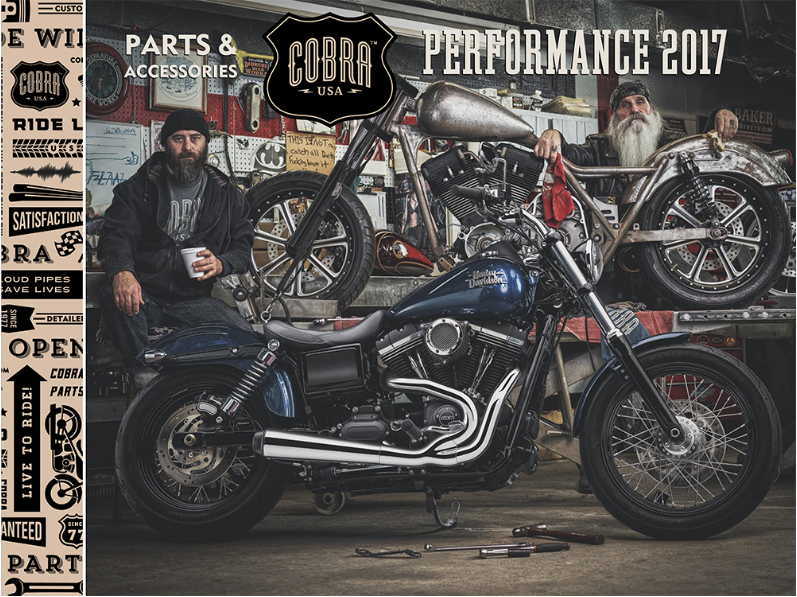 Communication Design - 2017 Catalog - Cobra - Bronze