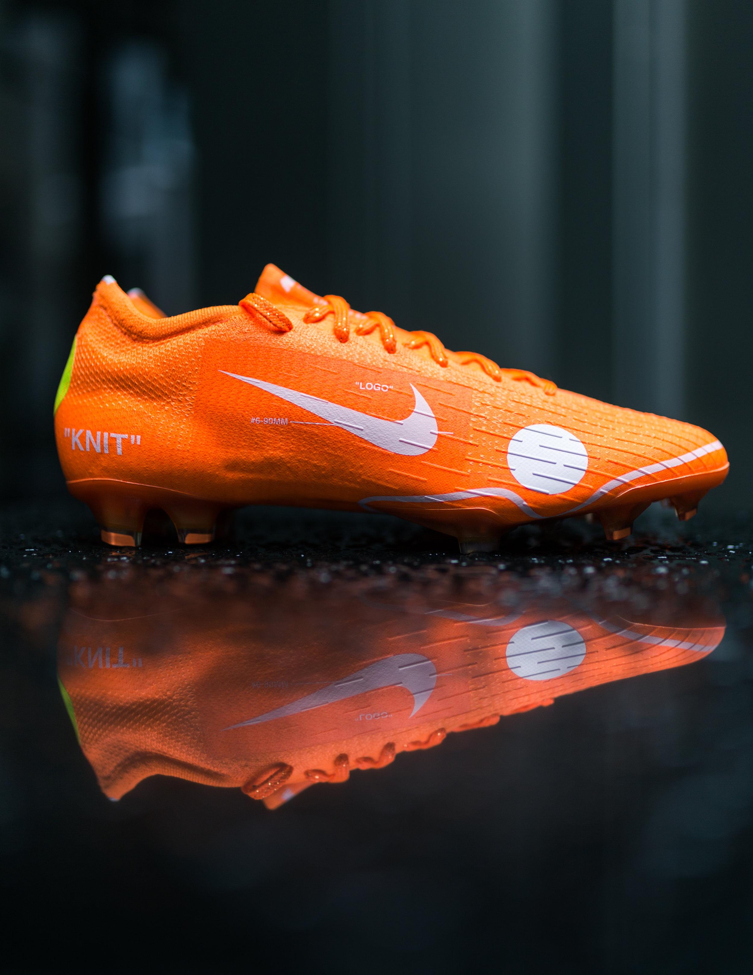 Parámetros Menos mezcla  Pro:Direct Soccer - Nike Football x Virgil Abloh — shoelayce