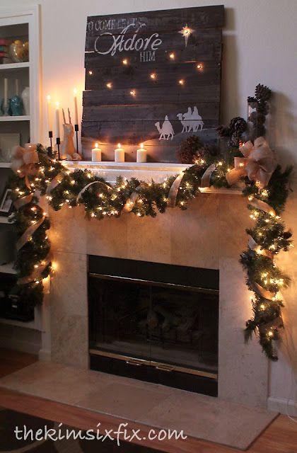 christmasmantelinspiration