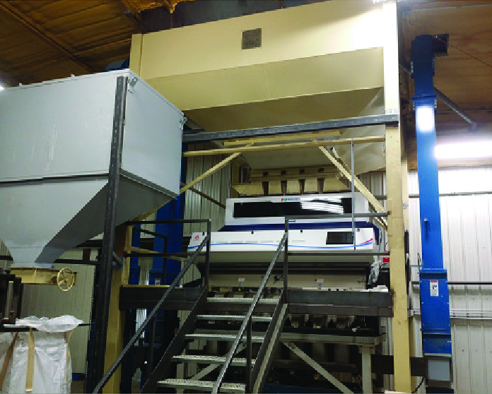 A photo of an AMVT Color Sorter