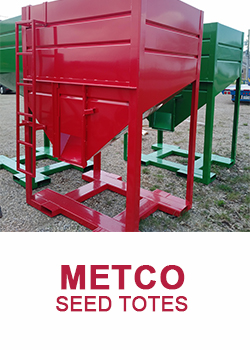 METCO SEED TOTES