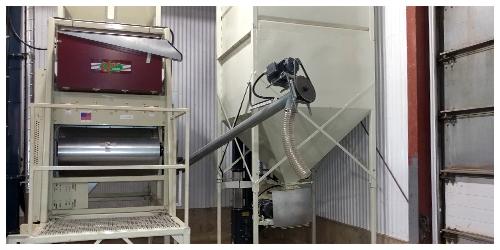 Malt barley cleaning & debearding