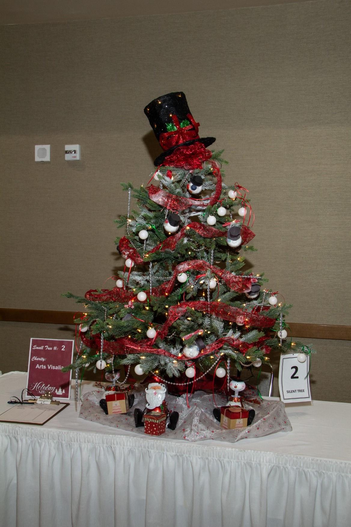 Christmas Tree Auction Visalia Chamber Of Commerce