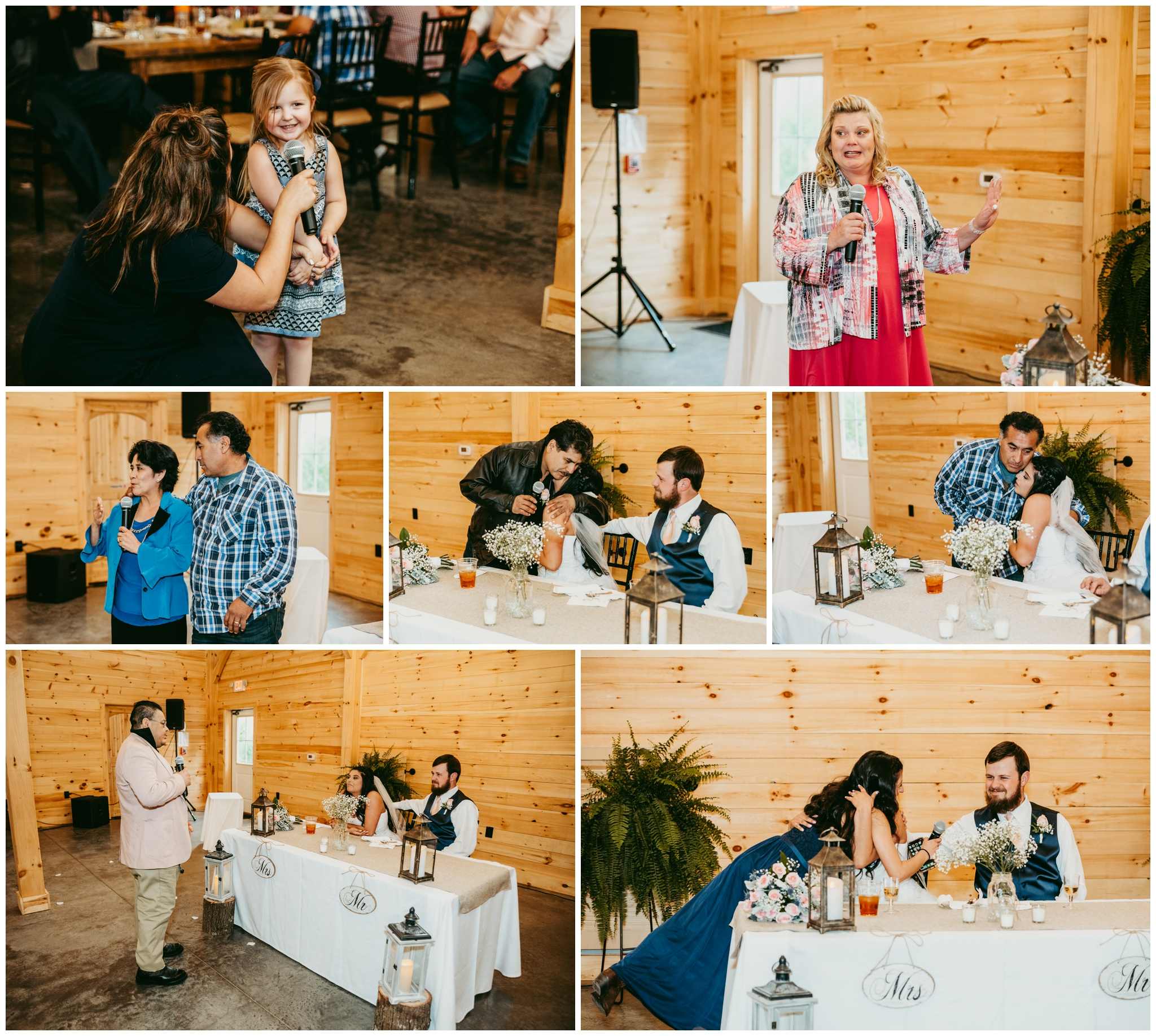 The toast had everyone crying. Veronika's mom spoke. Bradley's father spoke. Veronika's aunt and uncle spoke. Veronika's best friend / maid-of-honor spoke. There was one last special tiny little guest that came to wish the new couple a happily ever after …