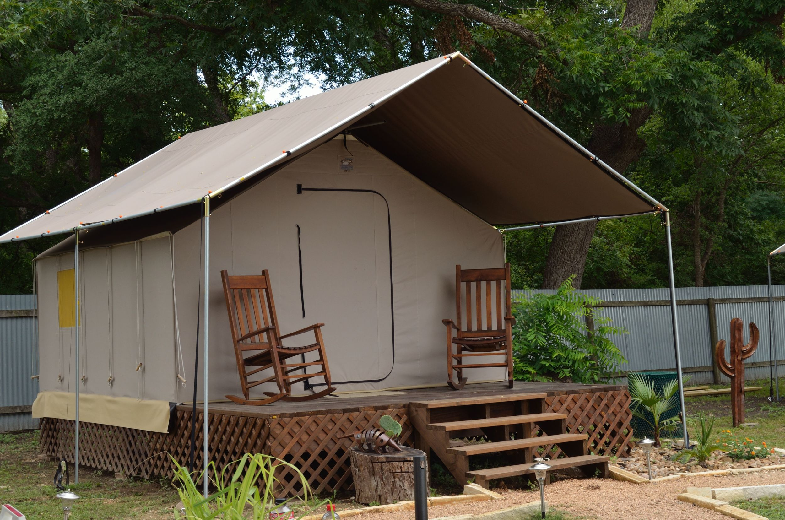 Canvas Cottage - $3,500 to house a person