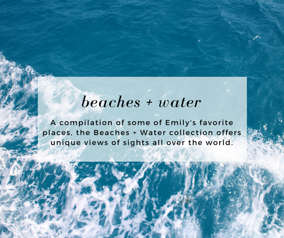 beaches and water