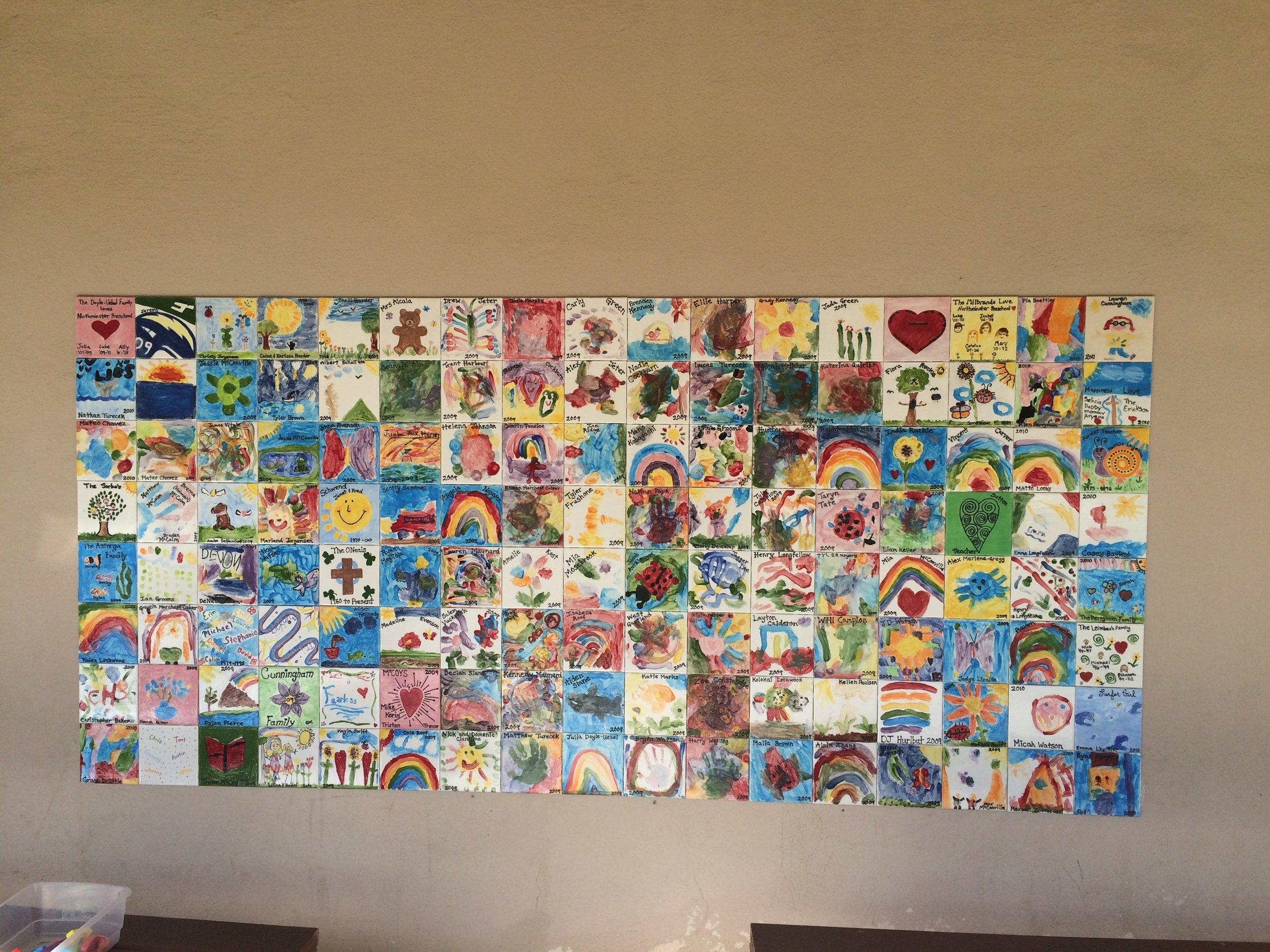 Memory Tile Wall