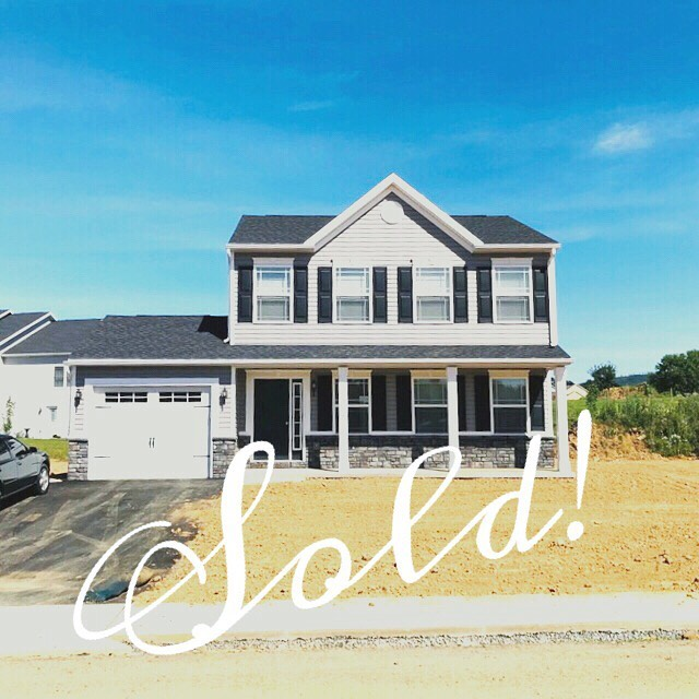 Sold! First time home buyer... brand new house!  #shippensburgrealestate #firsttimehomebuyer #newconstruction