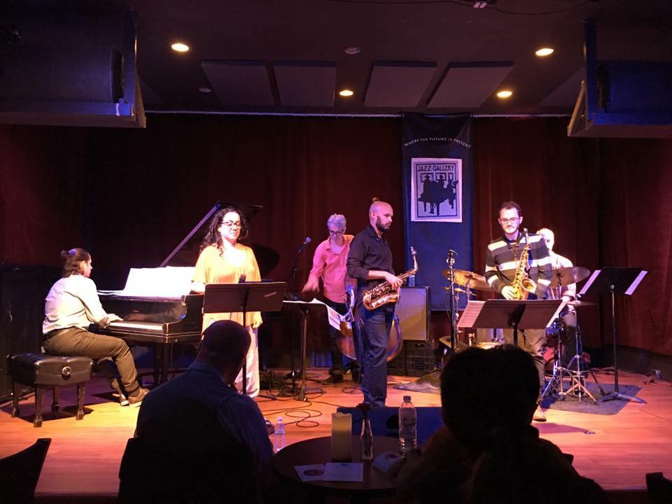 At the Jazz Gallery