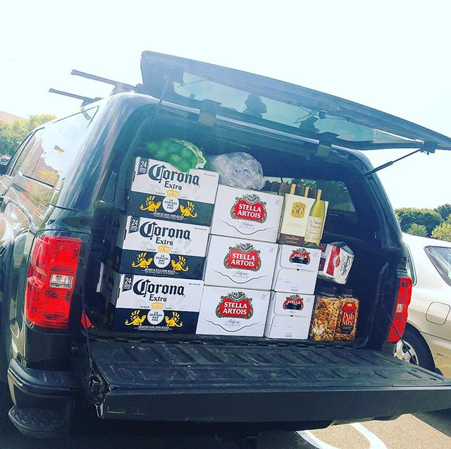 Stocking up for tomorrow's happy hour celebrating the 1yr mark since SALT opened. Thanks for a great 1st Year. Hope to see ya there!