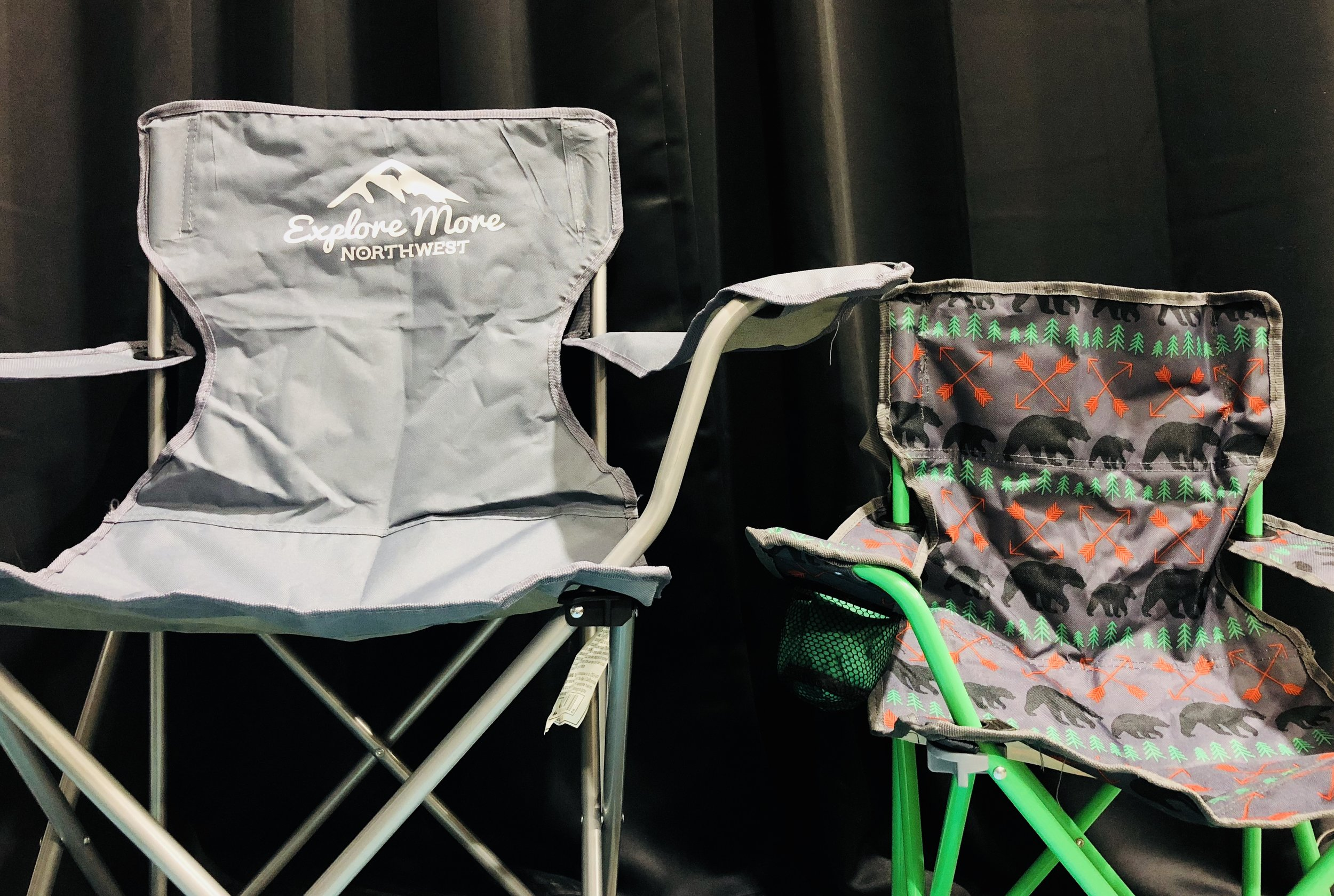 Chair Rentals - Adult Chair: $1.00 per dayKids Chair: $1.00 per day