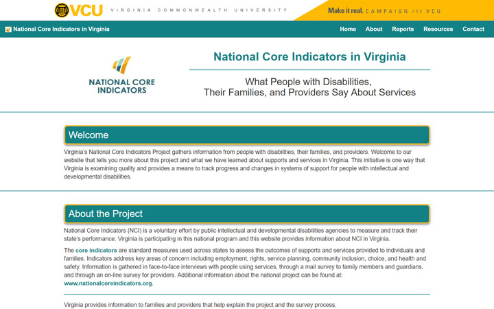 National Core Indicators Site Redesign - Site | Code | Case Study