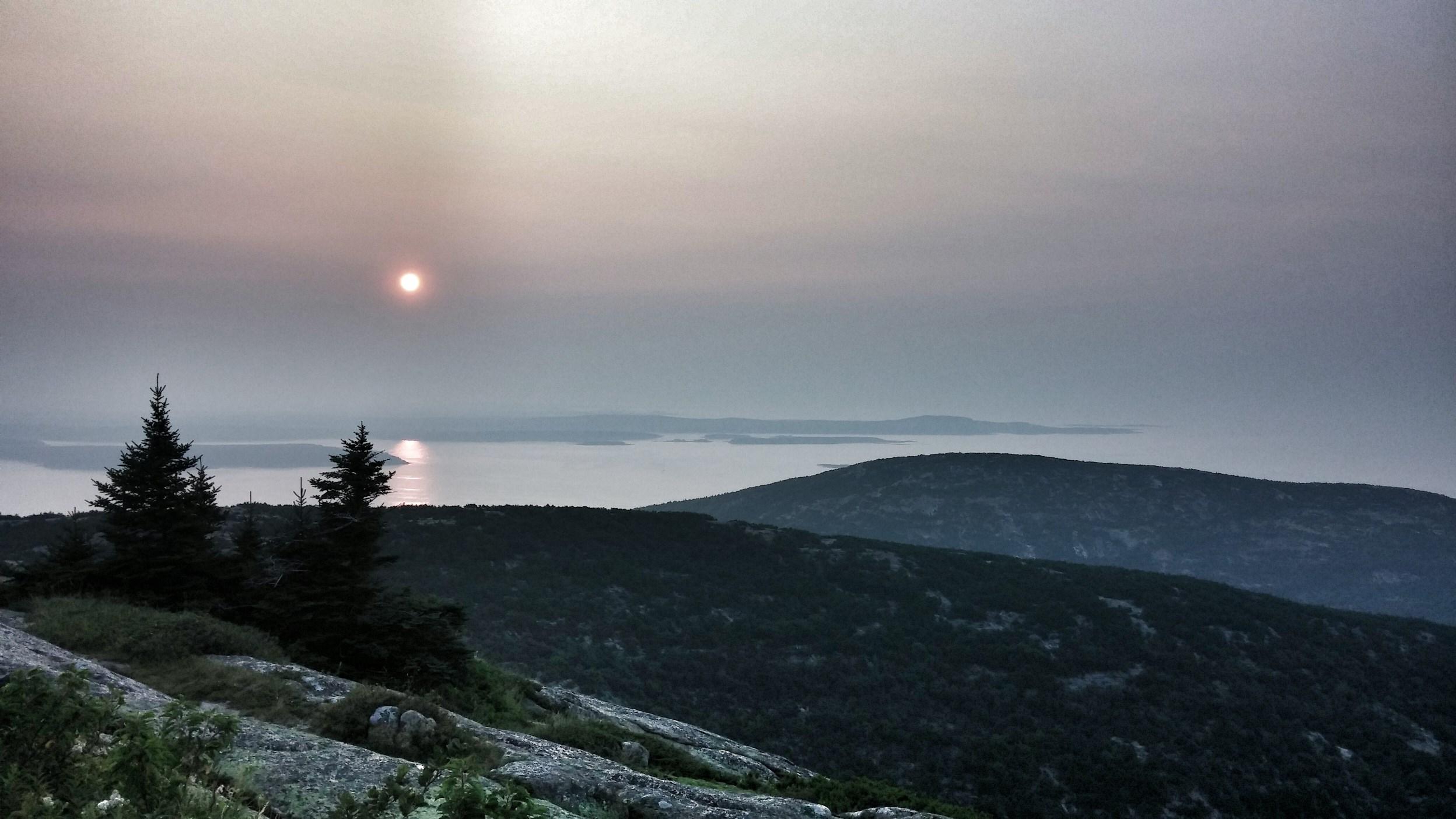 sunrise at cadallac mountain
