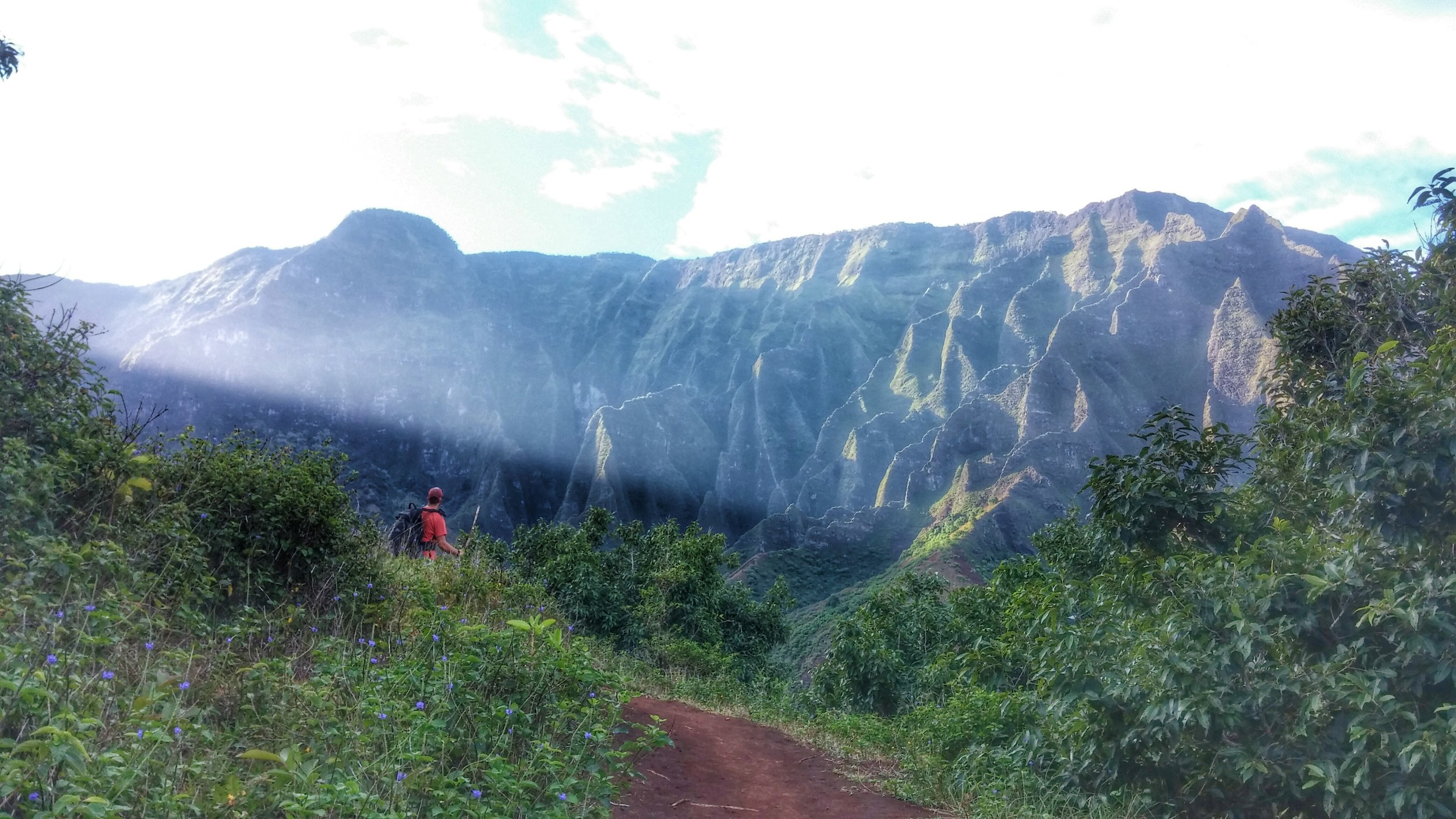 Last view of Kalalau Valley. Until next time!