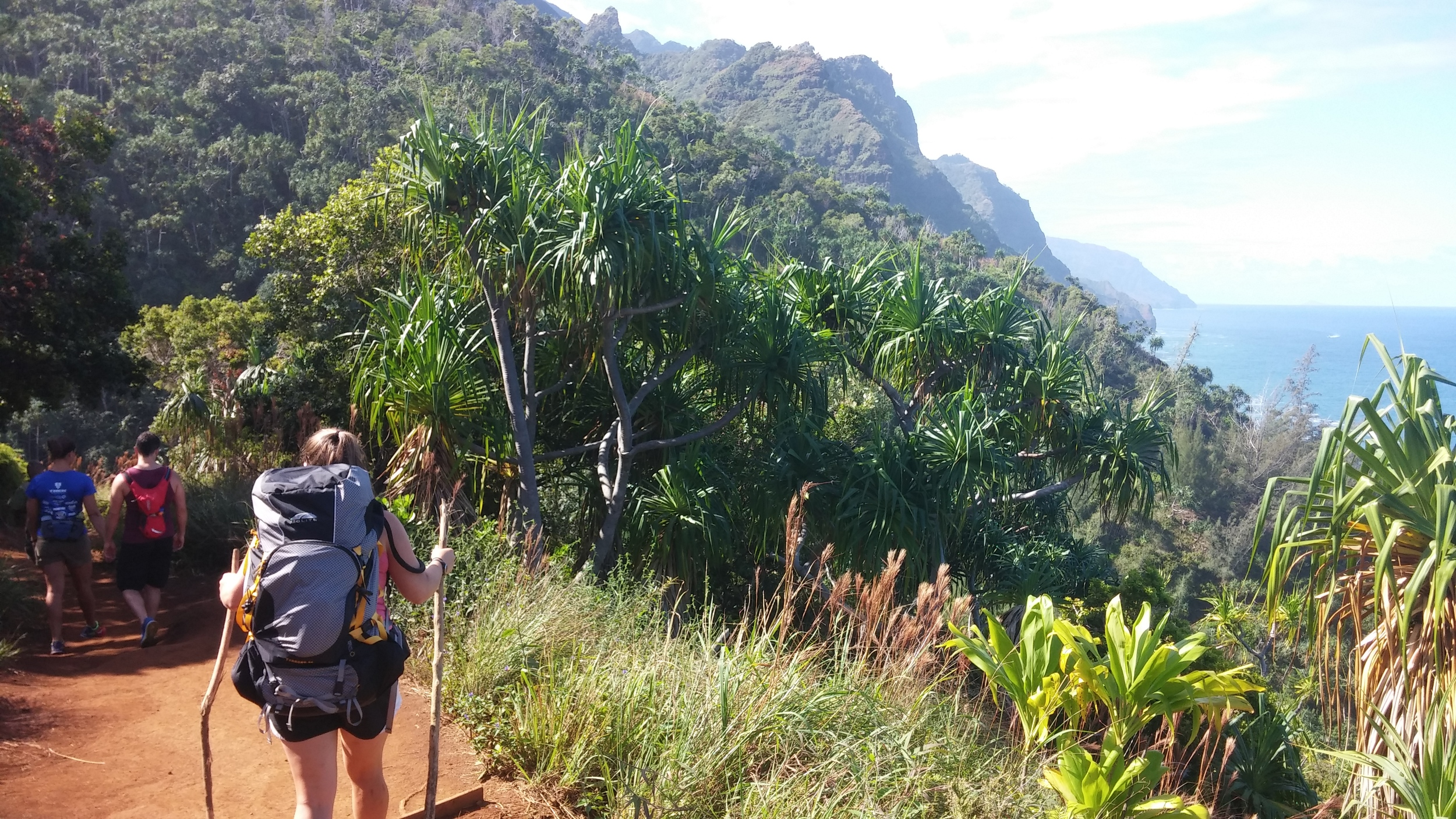 First day on the Kalalau.