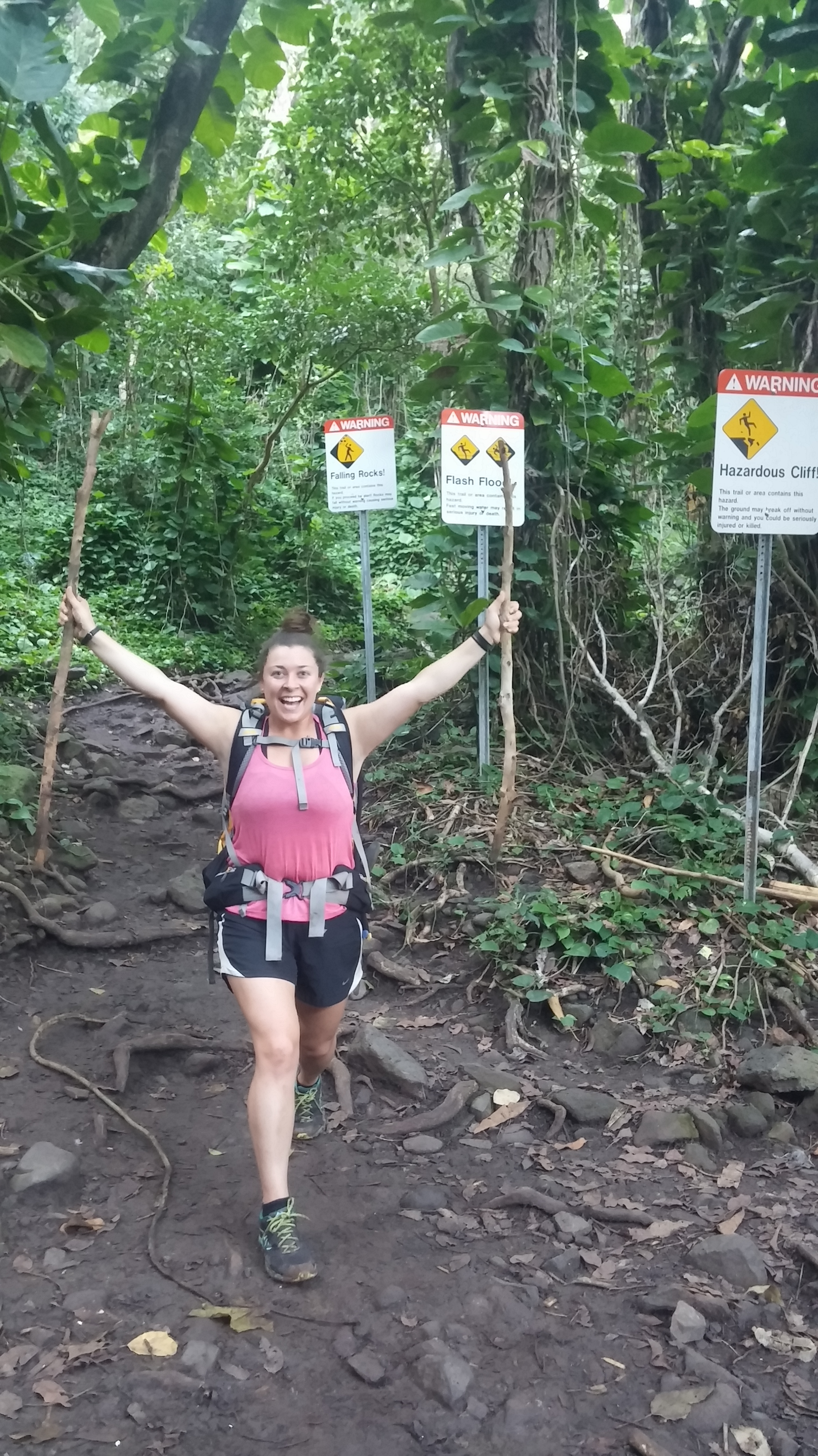 Conquered fears despite warning signs!