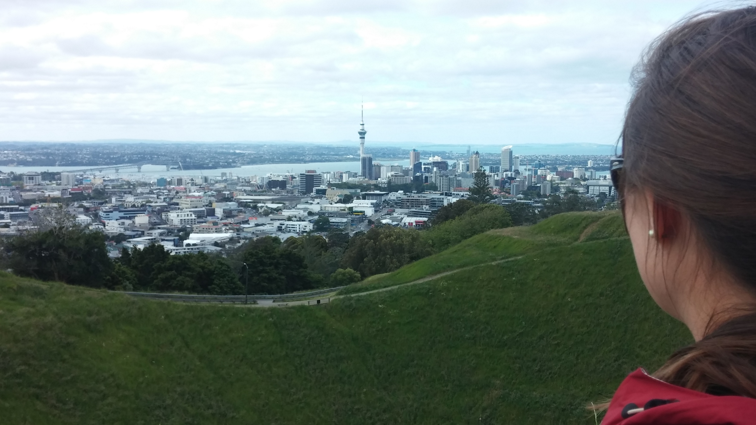First day in Auckland, New Zealand.
