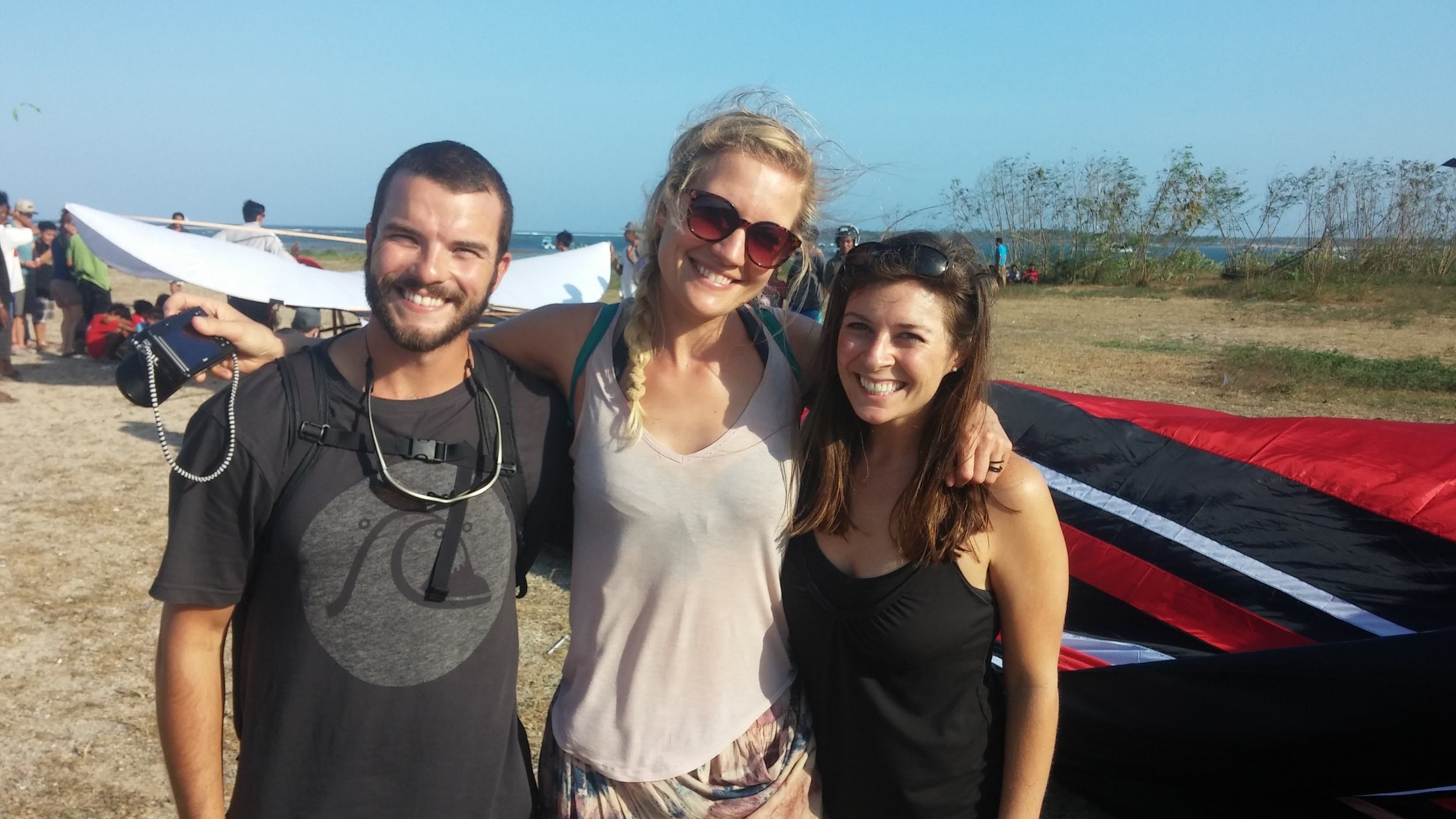 We met Laura in New Zealand and reunited in Bali! So cool experiencing this together!