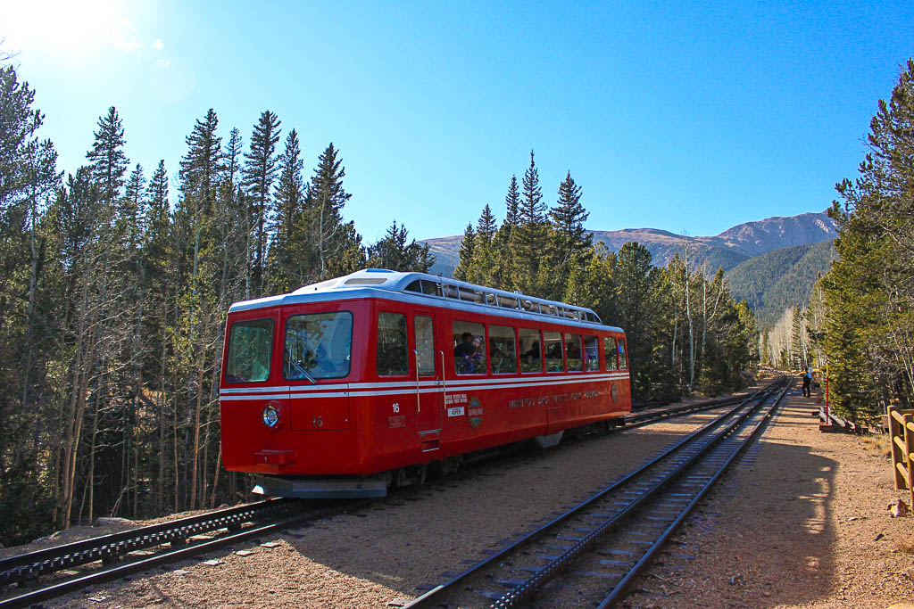 Nuventure Travels. #nuventures. Pikes Peak. Pikes Peak Cog Railway. Trail Work. How to Meet New People While Traveling Full Time