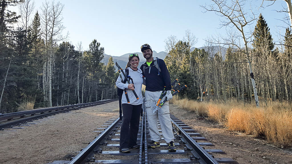 Nuventure Travels. #nuventures. Pikes Peak. Pikes Peak Cog Railway. Trail Work. How to Meet New People While Traveling Full Time. Medicine Wheel Trail Advocates