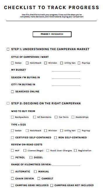 How to Buy a Campervan in New Zealand