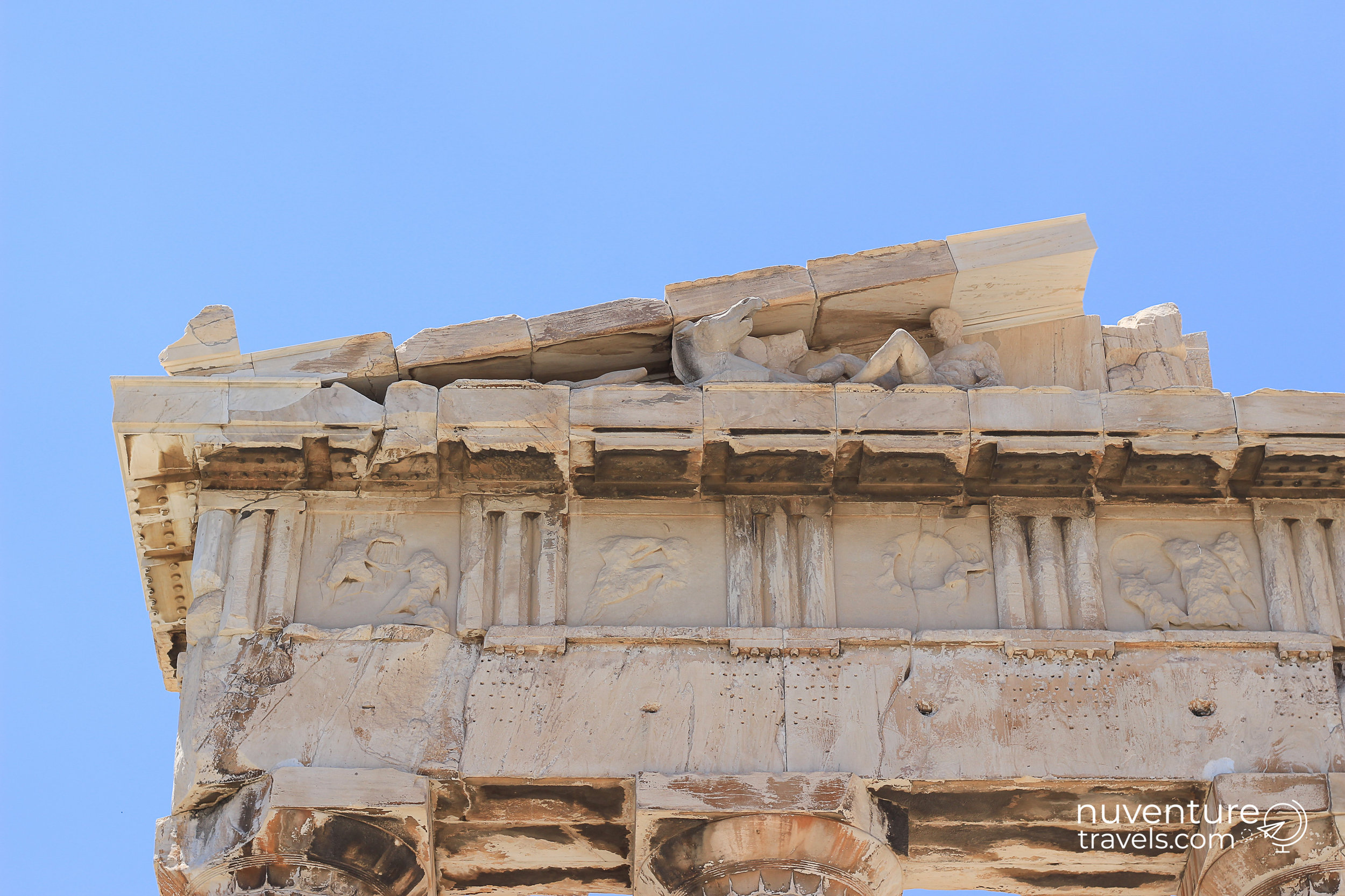 Carvings of the Parthenon