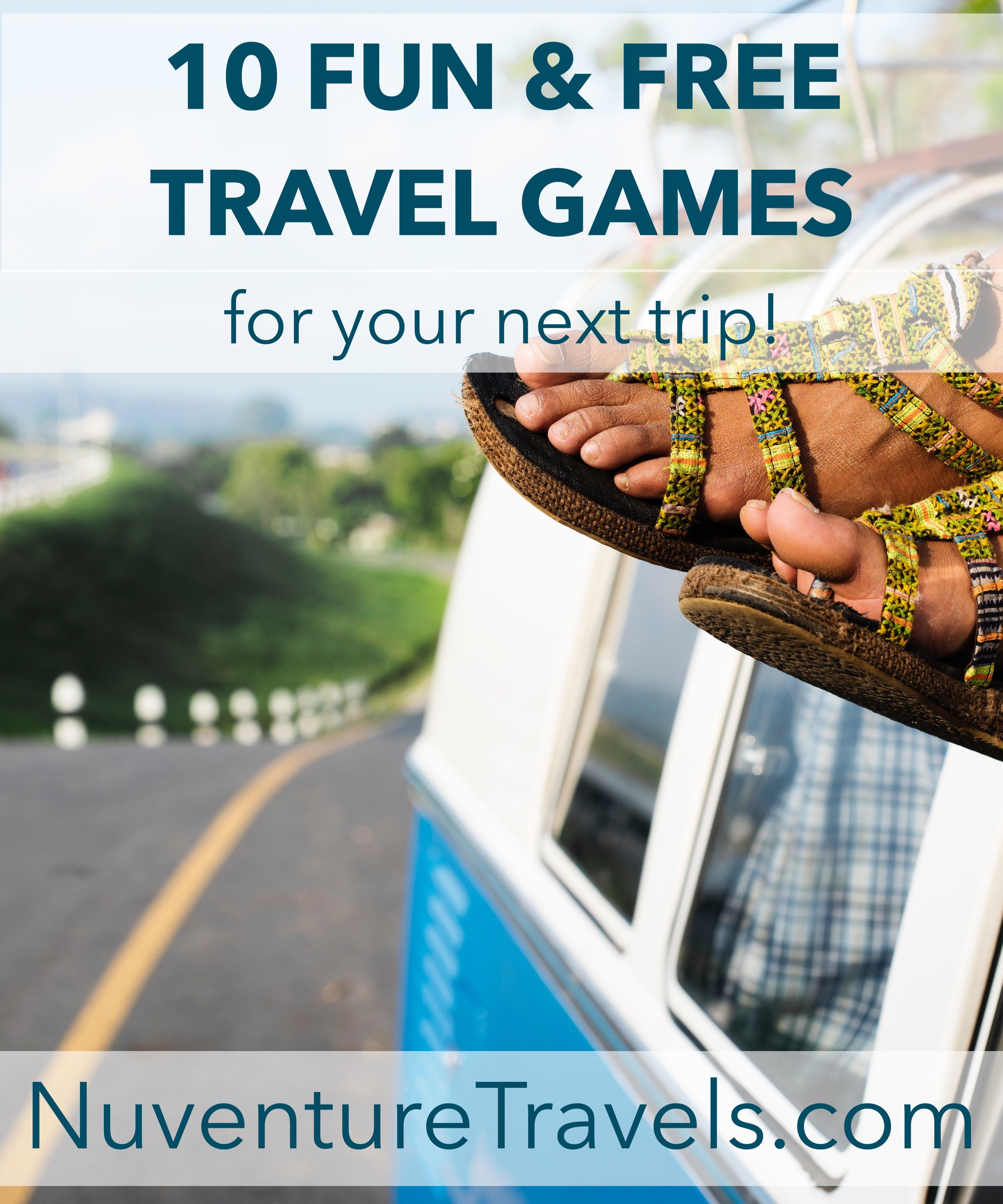 10 Fun & Free Travel Games for Road Trips