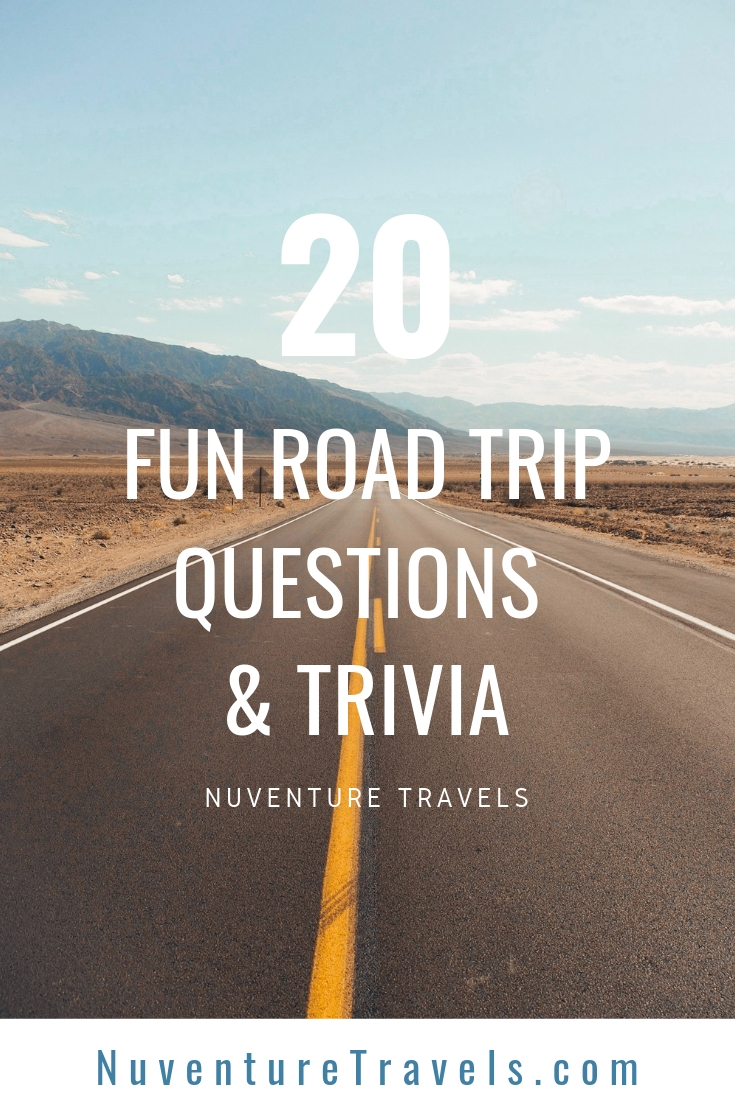 20 fun questions, trivia, and conversation starters for road trip