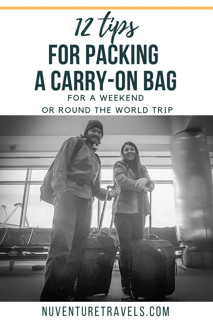 12 Tips to Pack Lighter in Carry on Bag for Weekend of Around the World Trip.jpg