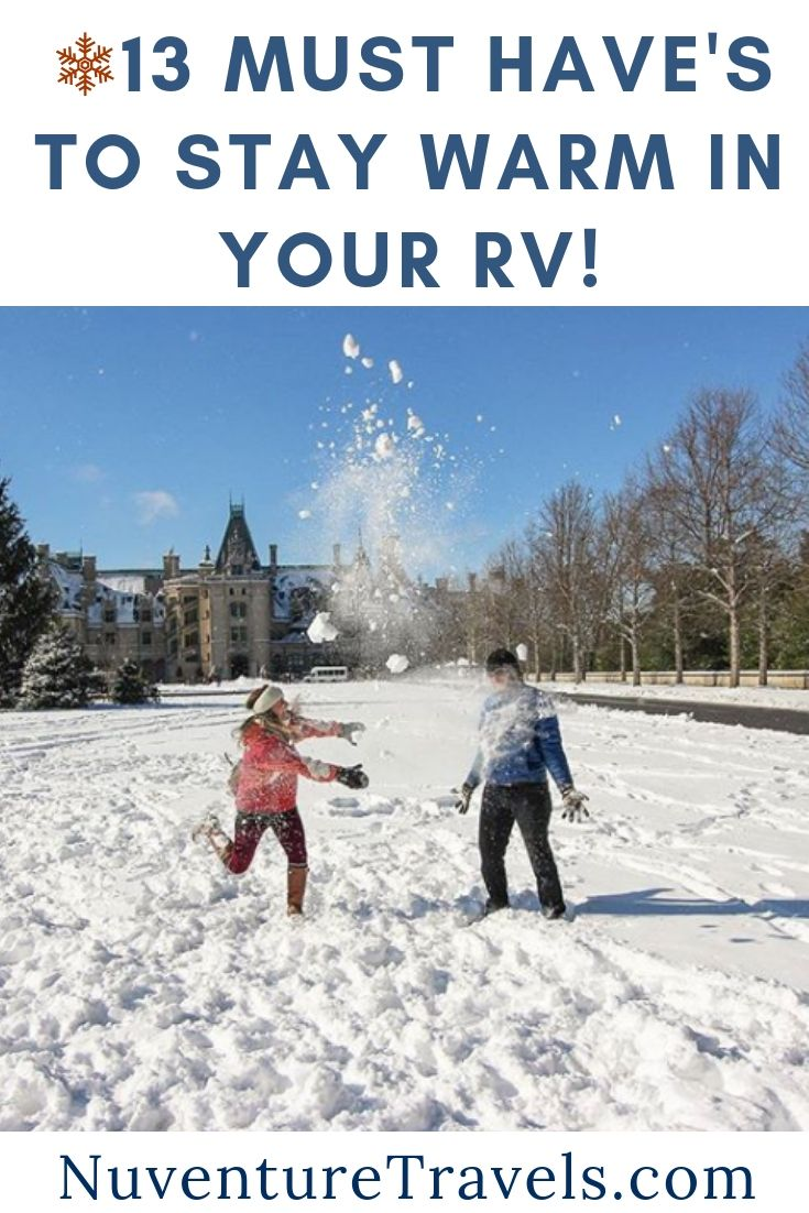 How to Stay Warm in Your RV During Winter. NuventureTravels.com.jpg