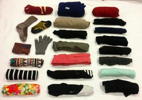 Minimal Carry On Womens Around the World Packing List. NuventureTravels.com