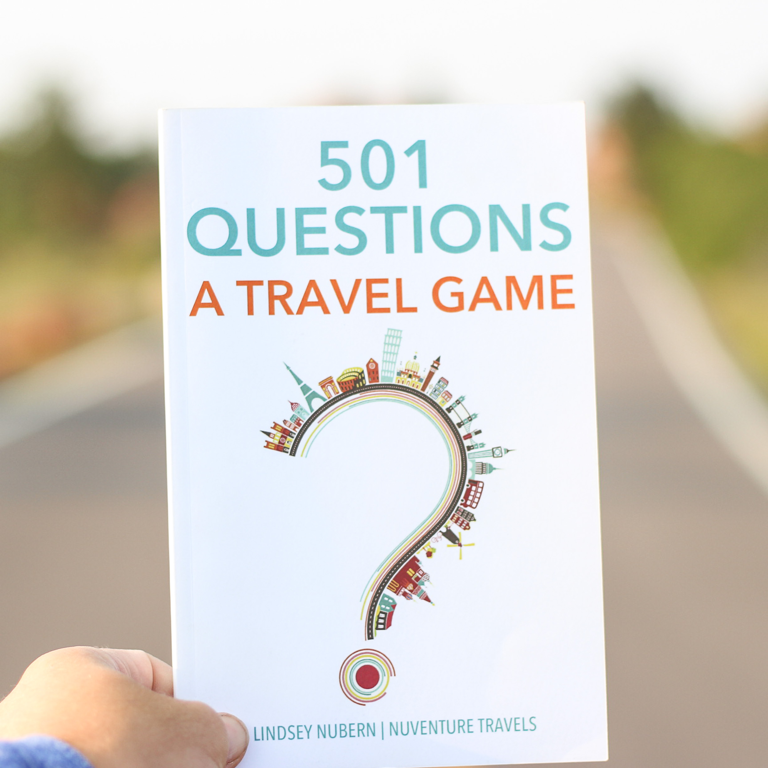 501 Questions A Travel Game by Lindsey Nubern of NuventureTravels.com