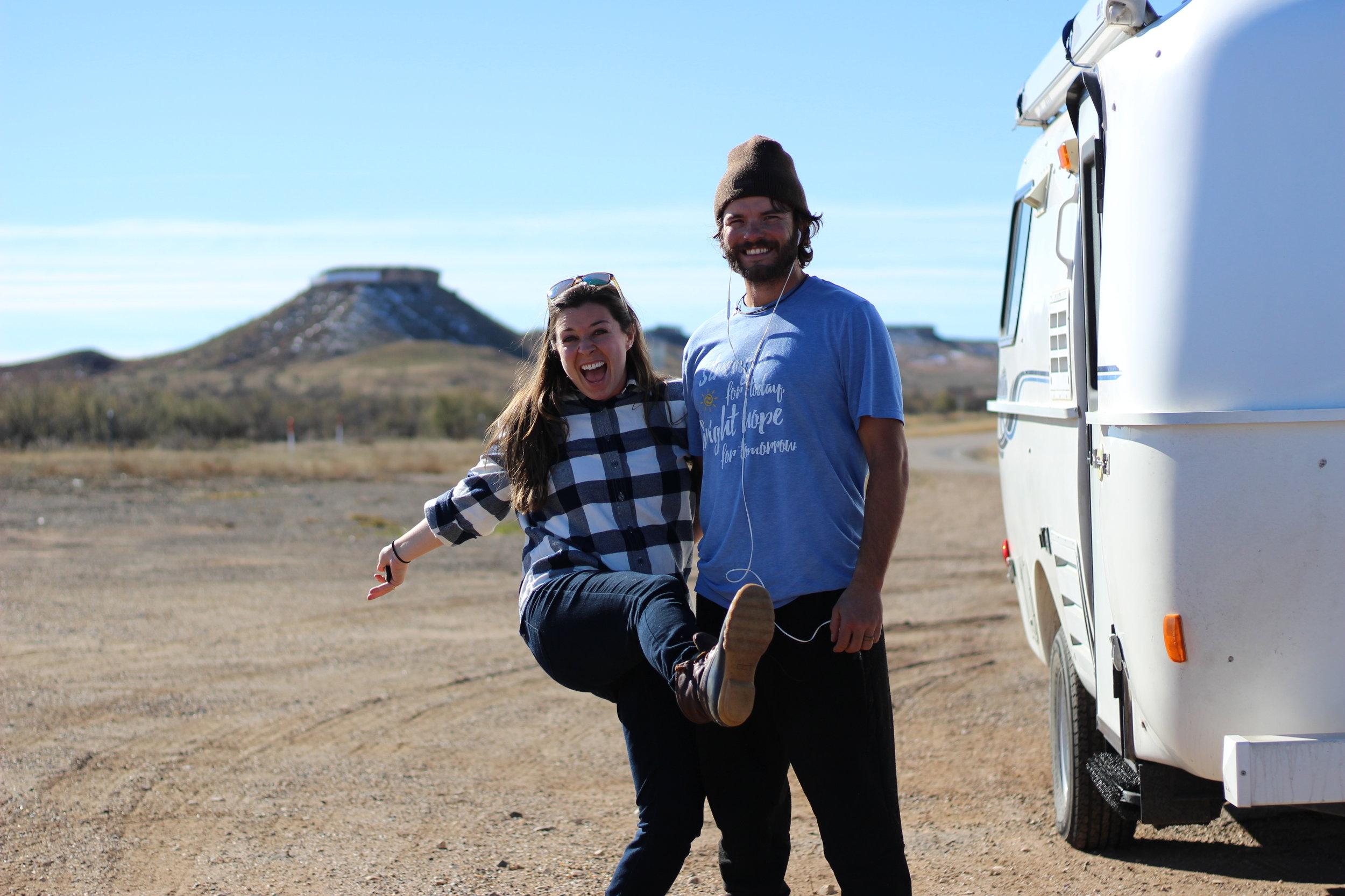 Adam and Lindsey Nubern. NuventureTravels.com