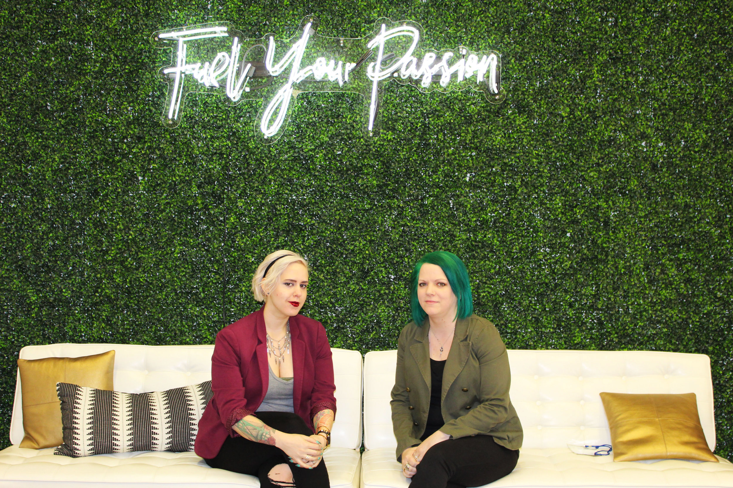 Tammy and Dez at the 2019 FinFoundHer Summit in Chicago, IL