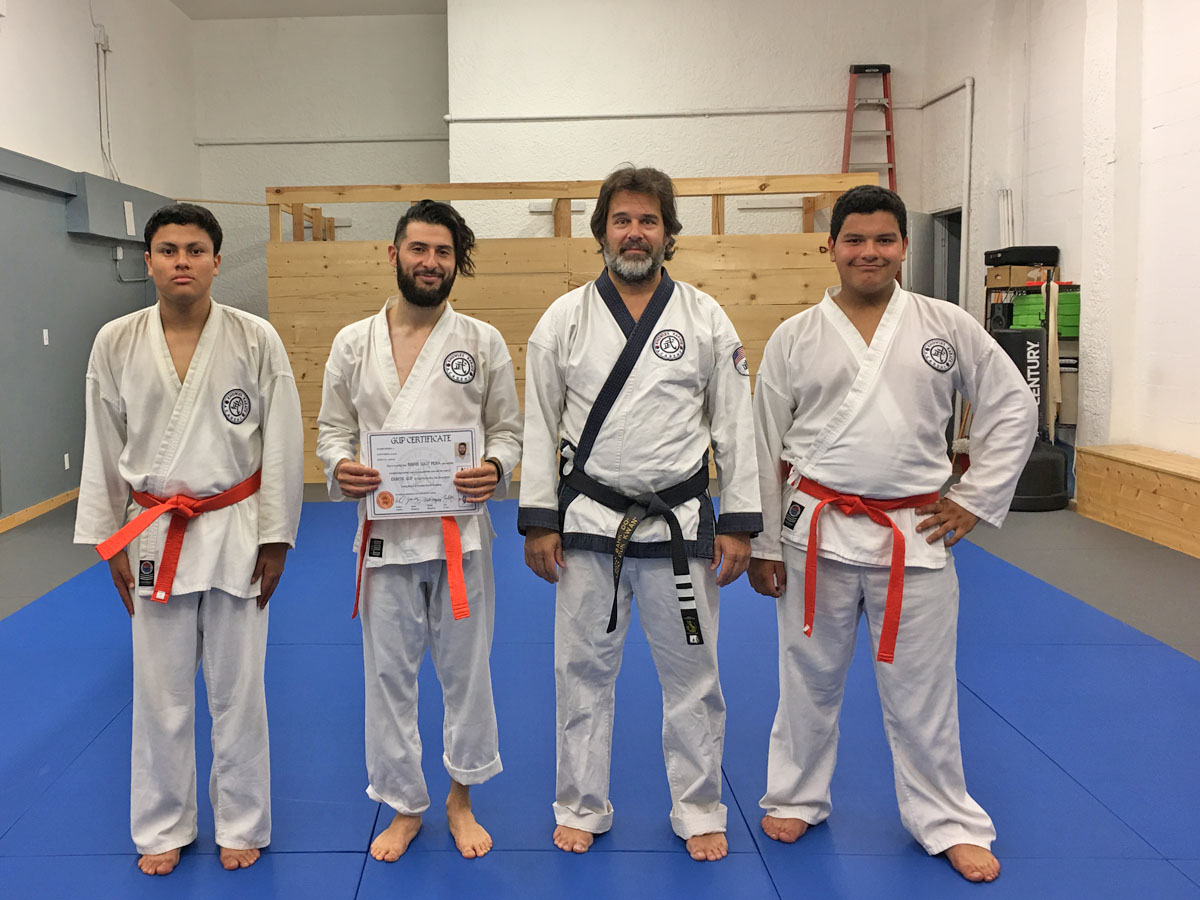 Another Orange Belt!