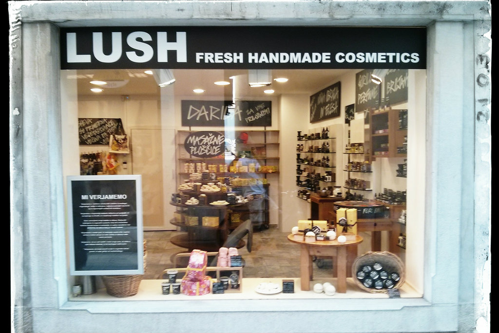 Op-ed about buying soap at Lush Cosmetics. (Huffington Post)