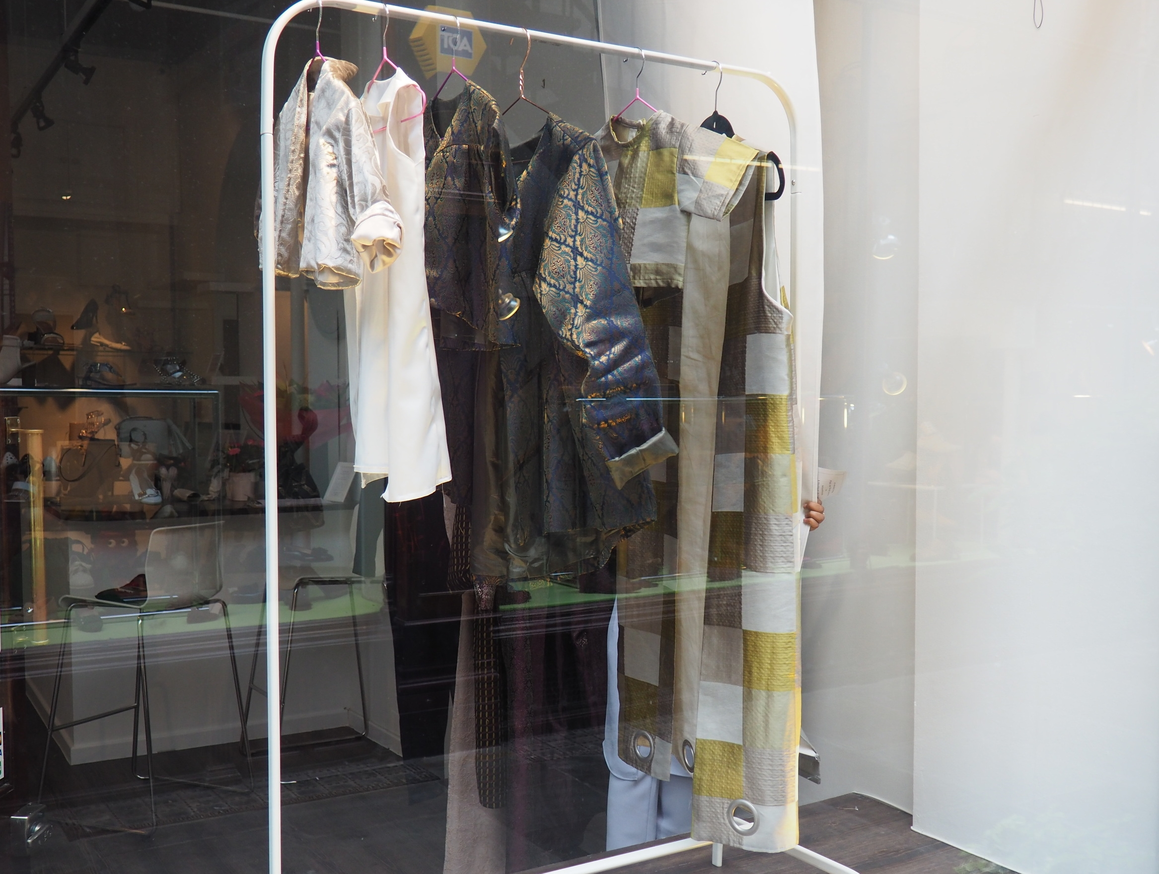 Shop Front Displaying MayMode collection